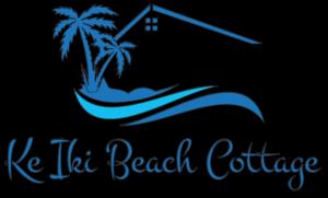 A larger Ke Iki Beach logo