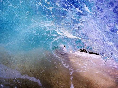 Ke Iki Beach Wave North Shore